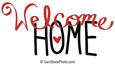 velkomst til hjem