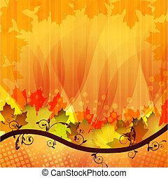 vellen, herfst