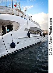 velocidad, lujo, barco