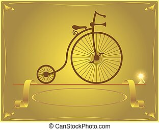 velocipede, mijn, great-grandfath