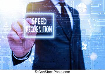 velocità, recognition., concetto, testo, parola, scrittura, affari, subfield, linguistics., computational, interdisciplinary