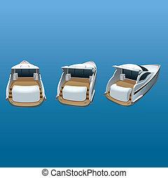 velocità, yacht, lusso