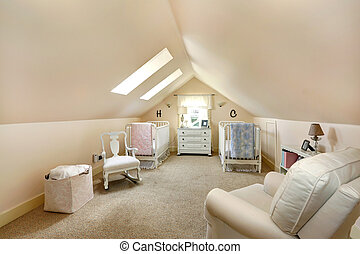 Velux nursery room