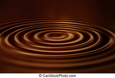 Velvet chocolate ripples - Velvety smooth chocolate ripples