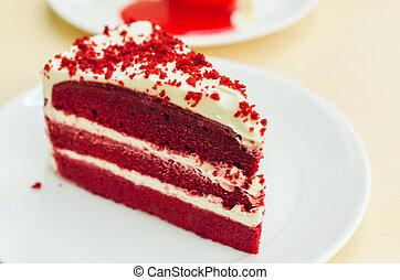 Velvet red cake