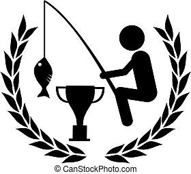 vencedor, pesca