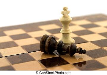 vencedor, xadrez
