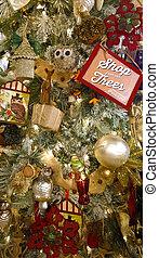 venda, ornamentos, natal