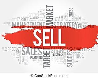 venda, palabra, nube