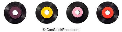 vendange, albums, enregistrement