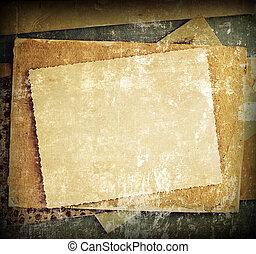 vendange, albums, lettres, bacground, photos