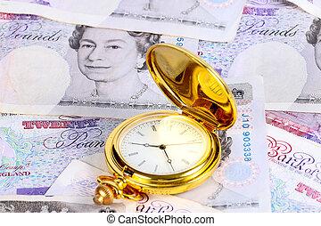 vendange, antiquité, horloge