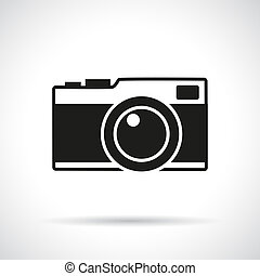vendange, appareil-photo., photo