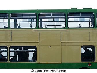 vendange, autobus
