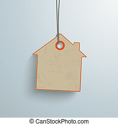 vendange, autocollant, maison, coût