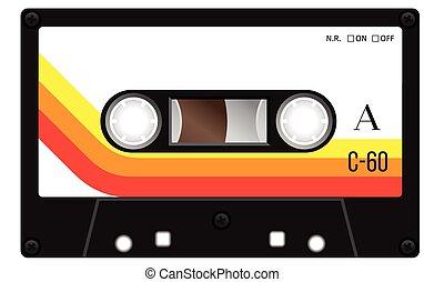 vendange, bande cassettee