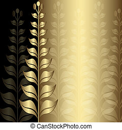 vendange, cadre, or, élégance