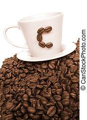 vendange, café