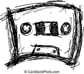 vendange, cassette