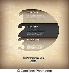 vendange, cercle, infographics