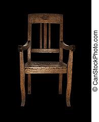 vendange, chaise