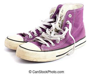vendange, chaussure