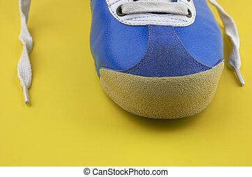 vendange, chaussures