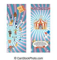 vendange, cirque, aviateur, gabarit