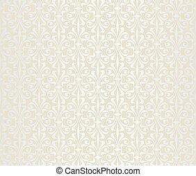 vendange, clair, papier peint, luxe