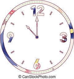 vendange, clocks