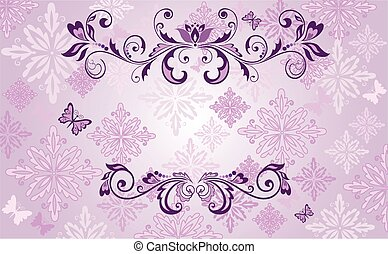 vendange, conception, violet