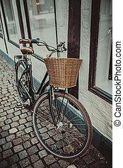 vendange, copenhague, vélo, ville