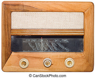 vendange, coupure, radio