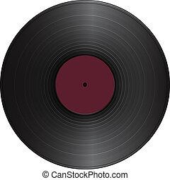 vendange, disque vinyle