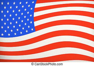 vendange, drapeau américain