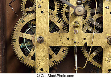 vendange, engrenages, clock's