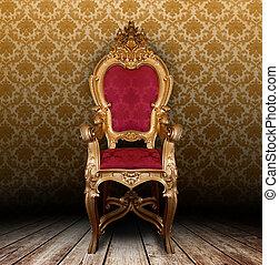 vendange, fauteuil