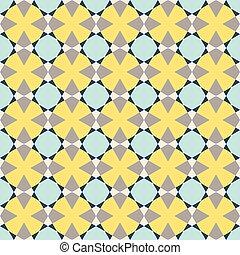 vendange, géométrique, pattern., seamless