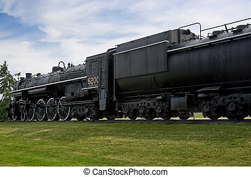 vendange, historique, train vapeur, moteur