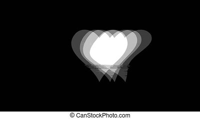 vendange, icône, signal, carte, procès coeur, animation.,...
