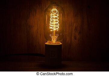 vendange, lightbulb