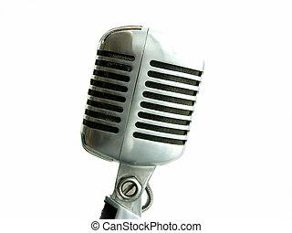 vendange, microphone