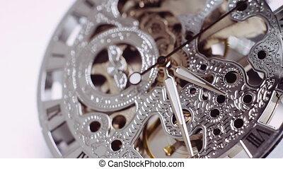 vendange, montre, mécanisme