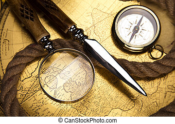 vendange, navigation, équipement