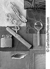vendange, objets