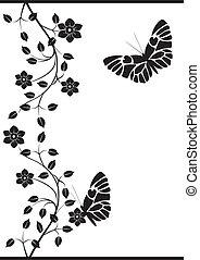 vendange, papillons, 5