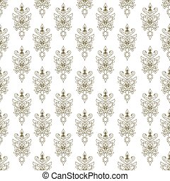 vendange, pattern., seamless, texture, fond, griffonnage