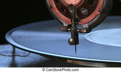 vendange, phonographe, joueur