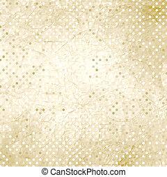 vendange, polka, eps, 8, texture., point