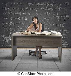 vendange, prof, math
